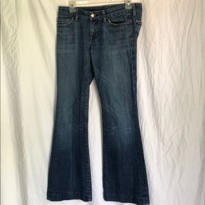 CITIZENS of Humanity jeans! Low waist full leg